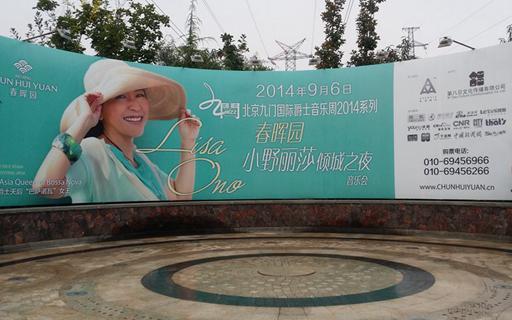 顺义春晖园2014.9小野丽莎演唱会临时供电